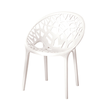 Nilkamal Crystal PP Chair,  white