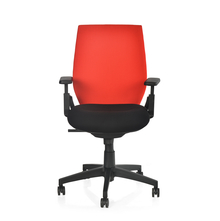Nilkamal Steller MB Office Chair, Red & Black