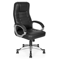 Victory High Back Chair - @home By Nilkamal,  black