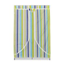 Nilkamal Blend Folding Cloth Wardrobe, Green