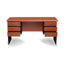 Nilkamal Madison 6 Drawer Office Table