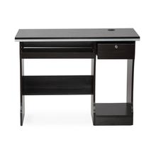 Nilkamal Austin Computer Table, Black/Walnut