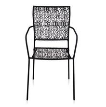 Nilkamal Erinda Chair With Arm, Black