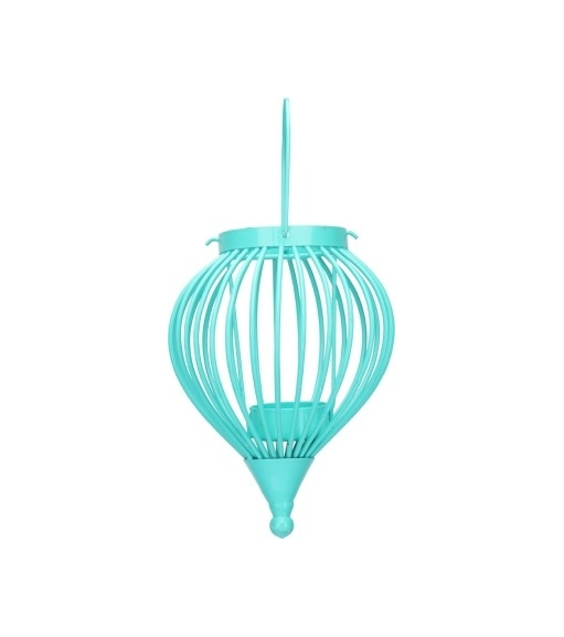 Boond Hanging Tealight Holder - @home By Nilkamal, Aqua