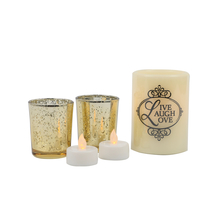 Flameless Votive & Candle Gift Set - @home by Nilkamal