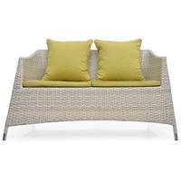 Villa 2 Seater Sofa - @home Nilkamal,  white