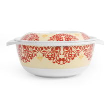 Earthy Wine 7.5 inch Casserole with Lid - @home by Nilkamal, Multicolor