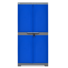 Nilkamal Freedom Mini Medium Storage Cabinet FMM, Dark Blue/Grey