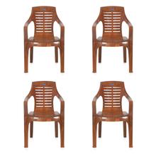 Nilkamal CHR6020 Chair Set of 4 - Mango Wood