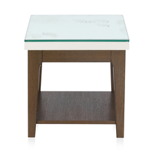 Angel Side Table - @home by Nilkamal, Dark Walnut