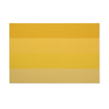45 cm x 30 cm PVC Gradation Placemats Set of 6 - @home by Nilkamal, Yellow