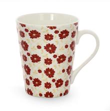 Aroha Floral Coffee Mug - @home by Nilkamal, Maroon
