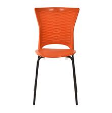 Novella 14 Mild Steel Leg Without Arm Without Cushion - @home Nilkamal,  rust