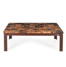 Nilkamal Fredo Center Table - Cherry/ Brown