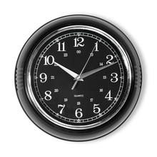Metric Wall Clock - @home by Nilkamal, Black