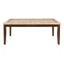 Jenn 8 Seater Dining Table - @home by Nilkamal, Beight & Walnut