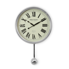 Pendulum Wall Clock - @home by Nilkamal, Gold