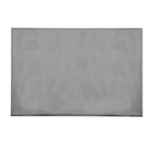 45 cm x 30 cm PVC Placemats Set of 6 - @home by Nilkamal, Silver