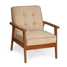 Denmark 1 Seater Sofa - @home by Nilkamal, Antique Oak