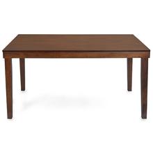 Olenna Dining Table 6 Seater - @home Nilkamal,  walnut
