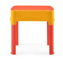 Nilkamal Apple Moulded Baby Desk, Red/Yellow