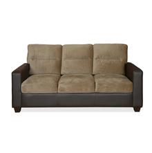Fendi 3 Seater Sofa - @home by Nilkamal, Dark Brown