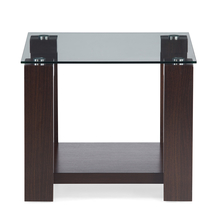 Verona Side Table - @home by Nilkamal, Walnut
