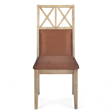 Falcon Dining Chair with Cushion - @home by Nilkamal, Pastle Brown