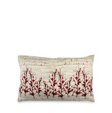 Splash 30 cm x 45 cm Filled Cushion - @home by Nilkamal, Maroon