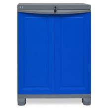 Nilkamal Freedom Storage Unit FS1, Dark Blue/Grey