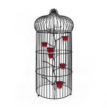Grand Bird Cage - @home by Nilkamal, Black
