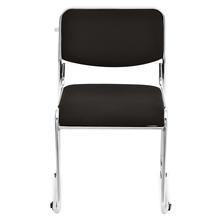 Nilkamal Contract-01 Fabric Chair,  black