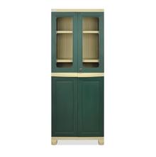 Nilkamal FB2 Freedom Cupboard - Olive Green and Pastel Green