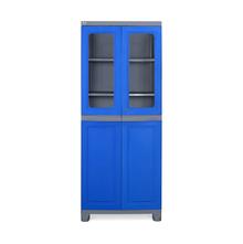 Nilkamal FB2 Freedom Cupboard - Deep Blue and Grey
