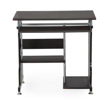 Alpha Computer Table - @home By Nilkamal, Black Walnut