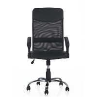Nilkamal Acqua Mid Back Oss Mesh Chair, Black