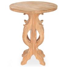 Luisa Center Table - @home by Nilkamal, Light Brown