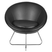 Daikin Occassional Chair - @home by Nilkamal, Black