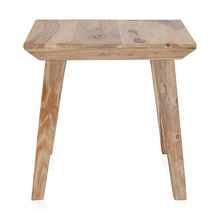 Magix Side Table - @home by Nilkamal, White Natural
