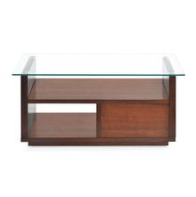 Lisa Center Table - @home By Nilkamal, Dark Walnut