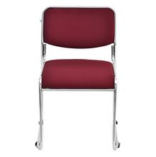 Nilkamal Contract 01 Fabric Chair, Maroon
