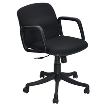 Lead Low Back Office Chair - @home By Nilkamal,  black