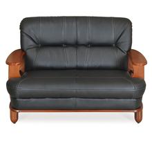 Nilkamal Legacy 2 Seater Sofa Dirty, Oak & Black