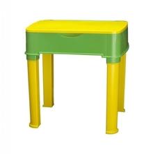 Nilkamal Apple Moulded Baby Desk, Yellow/Green