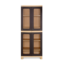 Nilkamal FB3 Freedom Cupboard - Weather Brown and Biscuit