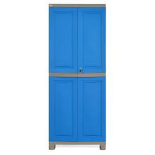 Nilkamal Freedom Big Storage Cabinet FB1, Dark Blue/Grey