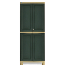 Nilkamal Freedom Big Storage Cabinet FB1, Pastle Green/Olive Green