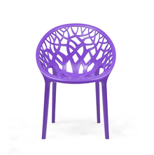 Nilkamal Crystal PP Chair - Violet