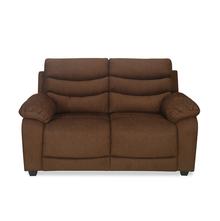Perkins 2 Seater Sofa - @home by Nilkamal, Coffee Brown