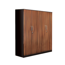 Nilkamal Florence 4 Door Wardrobe,  walnut